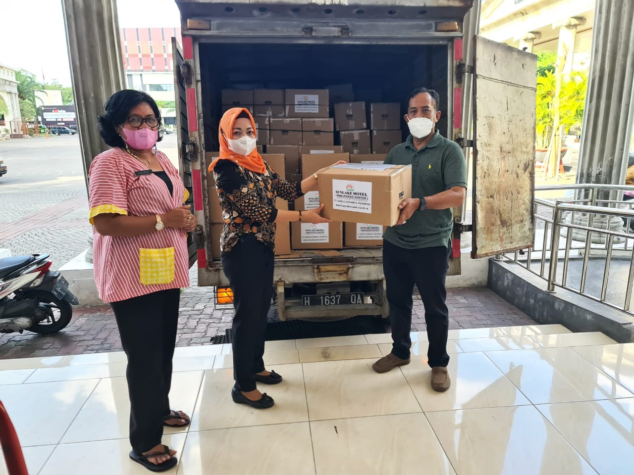 Program Bantuan Sembako peduli Masyarakat terdampak Covid